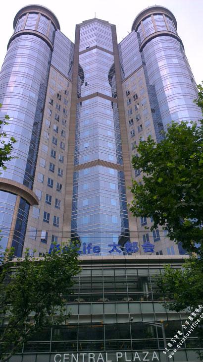 中区广场外观图