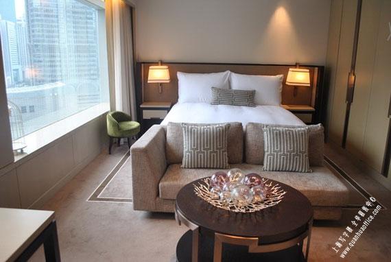 上海国金汇酒店式公寓卧室图图片