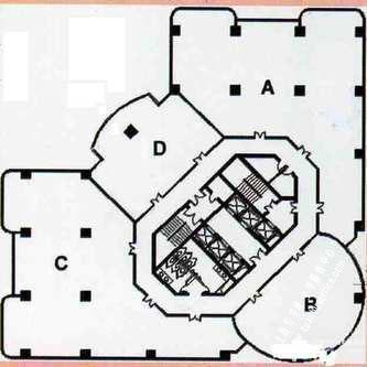宝鼎大厦房型图