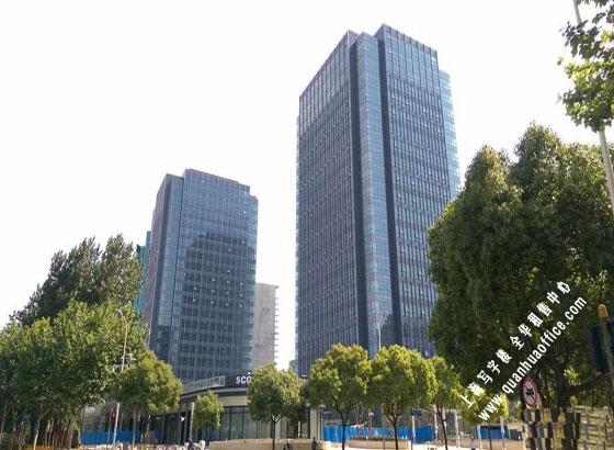 建工大唐国际广场外观图