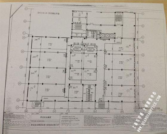 界龙总部园房型图