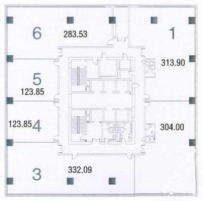 中融恒瑞国际大厦房型图