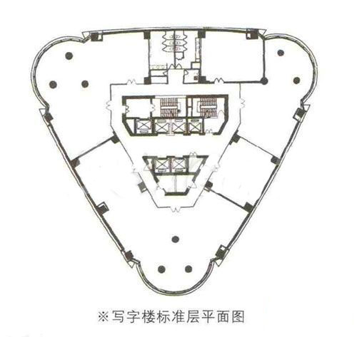 中港汇大厦房型图