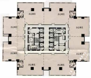 圣爱广场房型图
