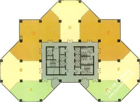 申通信息广场房型图