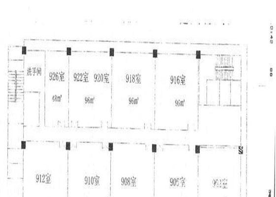 美邦大厦房型图